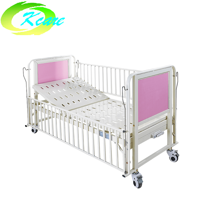 Manual One-Crank Hospital children bed with backrest function KS-915