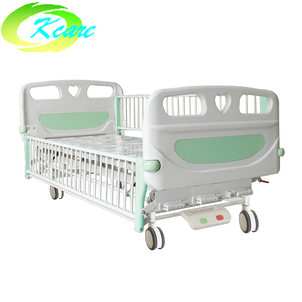 Kangshen Medical Manual One Cranks Hospital Children Bed KS-S102et Hospital Beds for Children image21