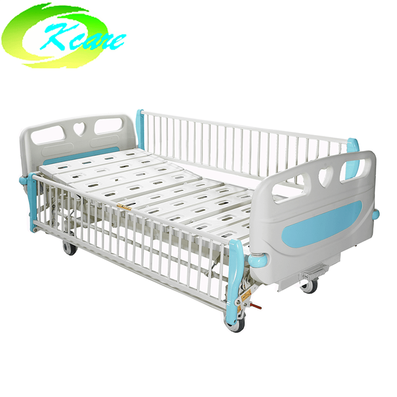 Manual One Cranks Hospital Children Bed KS-S102et