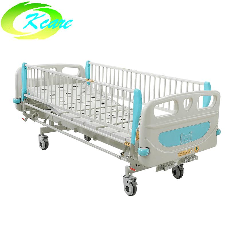Manual Two Cranks Hospital Children Bed KS-S202et