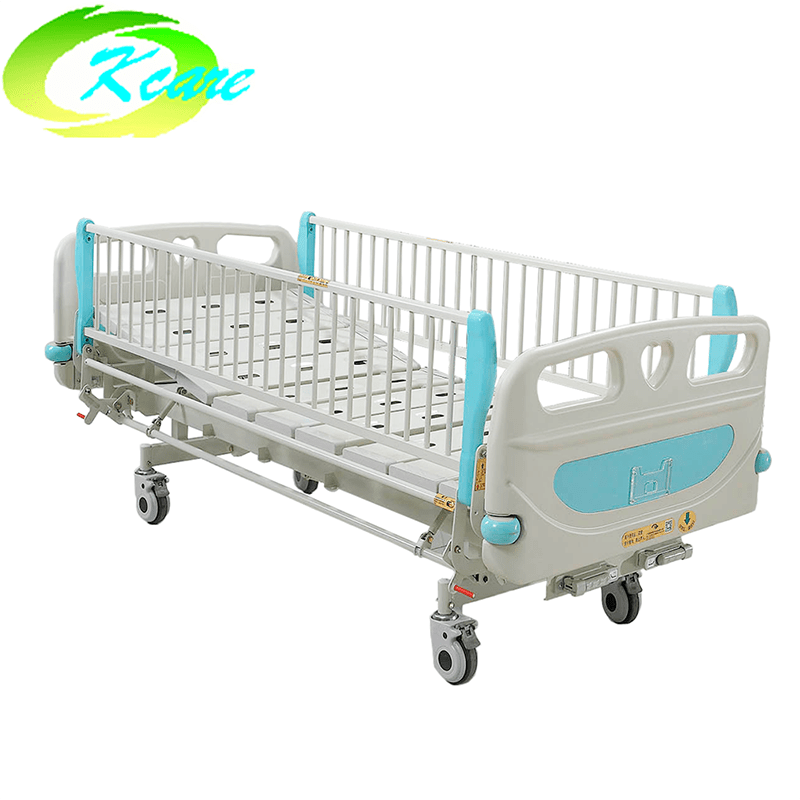 Manual Two Cranks Hospital Children Bed KS-S202et
