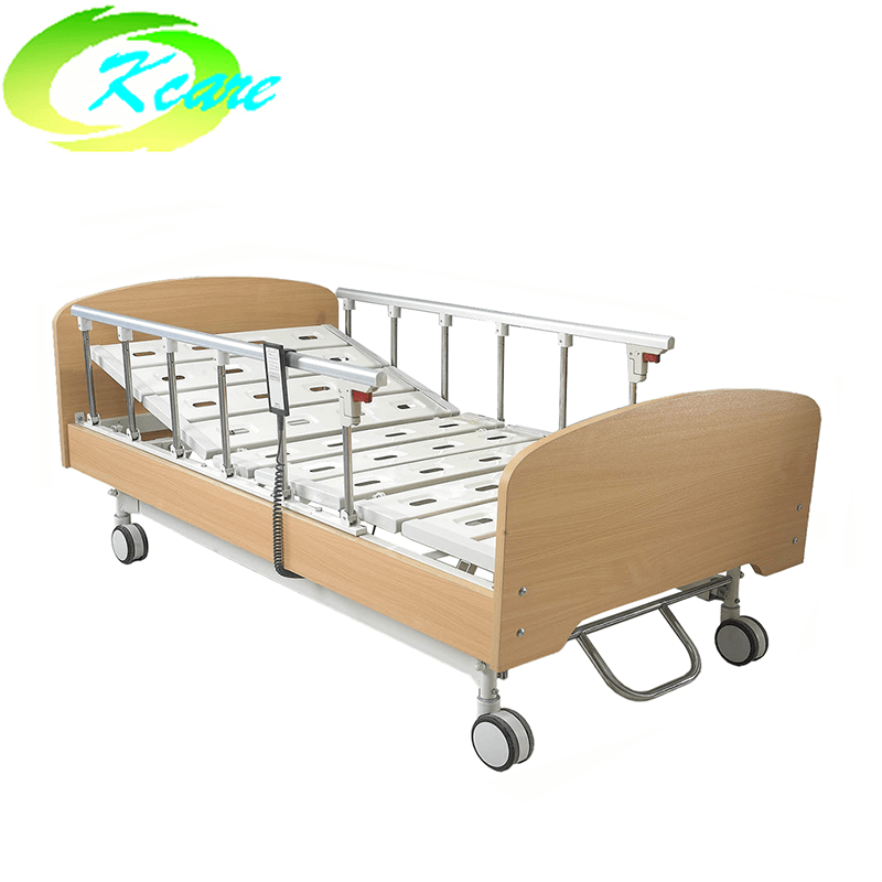 Solid Wood Bed Frame Electric 3 Function Nursing Home Care Bed GS-806(c)