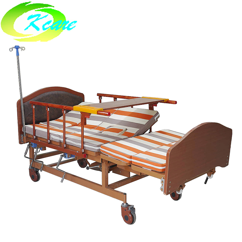 Multi-Function Manual Hospital Nursing Bed for Elderly KS-S402fs