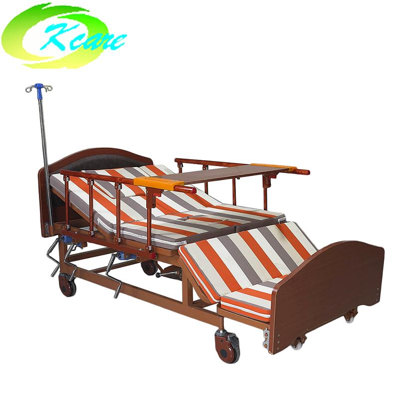 Kangshen Medical Multi-Function Manual Hospital Nursing Bed for Elderly KS-S402fs Hospital Bed for Elderly image102