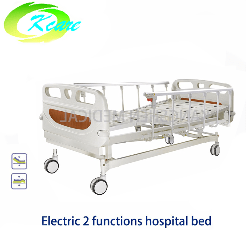 Kangshen Medical Central Lock Brake Castor Electric 2 Functions Hospital Bed GS-818c Electric Hospital Bed image101