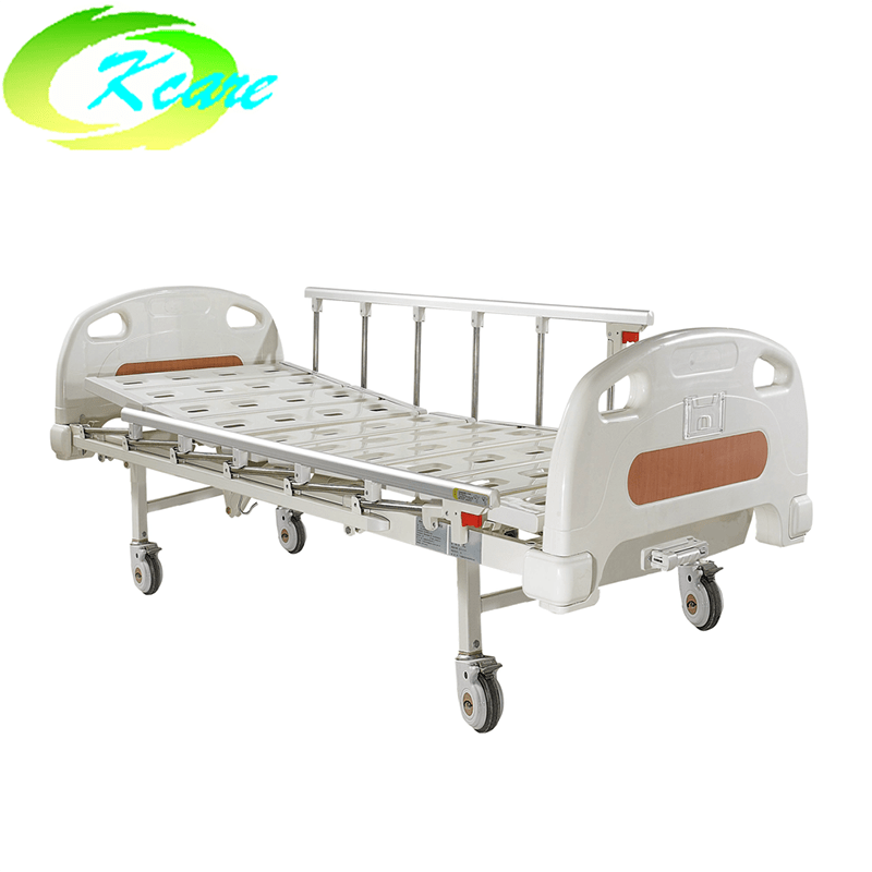 Luxury Castors One Crank Manual Medical Hospital Bed KS-102yh