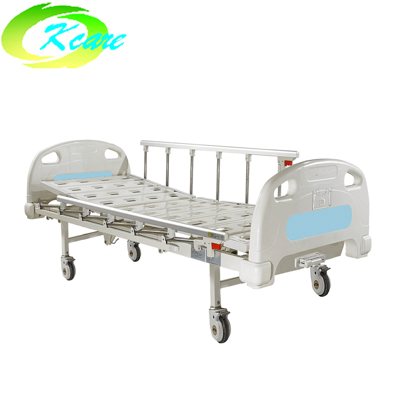 Kangshen Medical Luxury Castors One Crank Manual Medical Hospital Bed KS-102yh Manual Hospital Bed image99