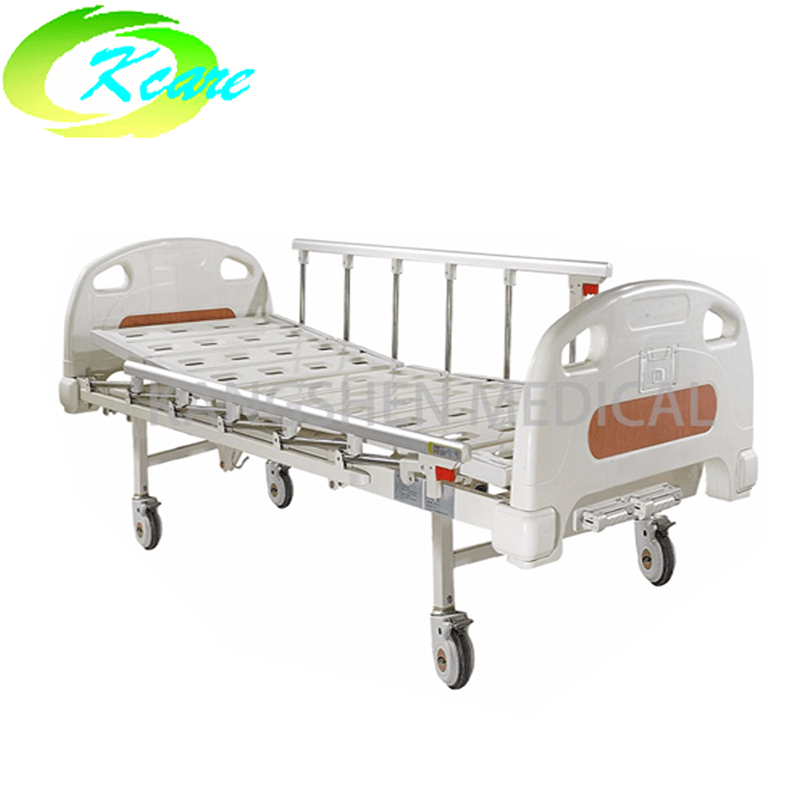 Luxury Castors Manual 2 Cranks Medical Hospital Bed KS-332