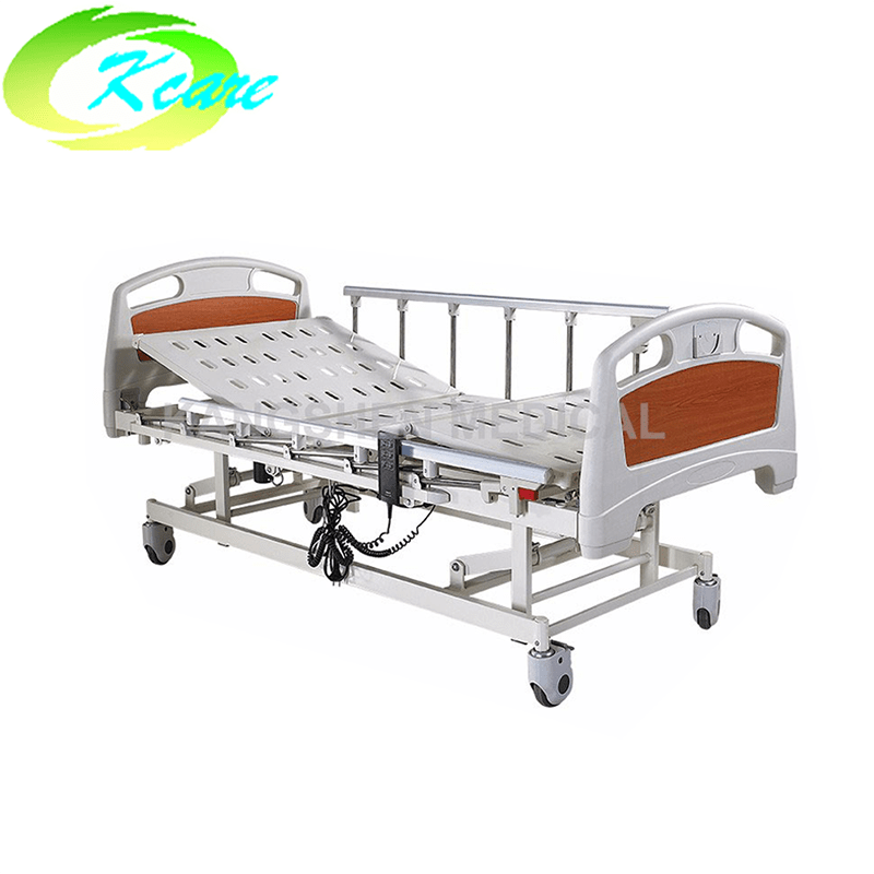 metal hospital bed Deluxe Castor Three Functions Electric Hospital Bed KS-828a Guidelines
