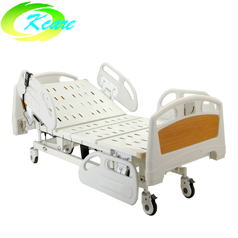manual adjustable bed PP Side Rails Fence Three Functions Electric Hospital Bed KS-828c Guidelines