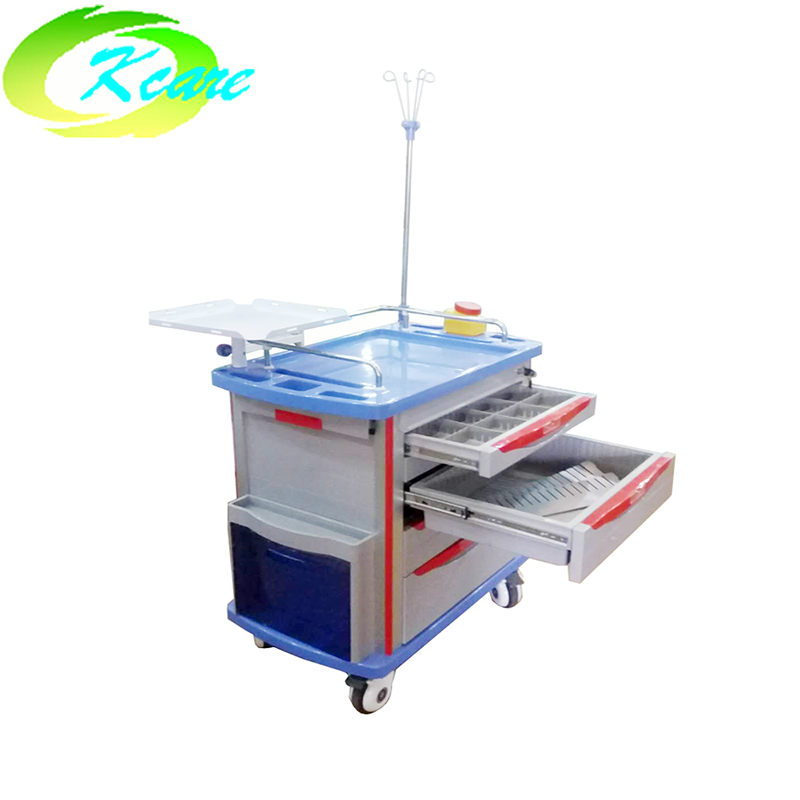 abs hospital emergency trolley for sale KS-320D