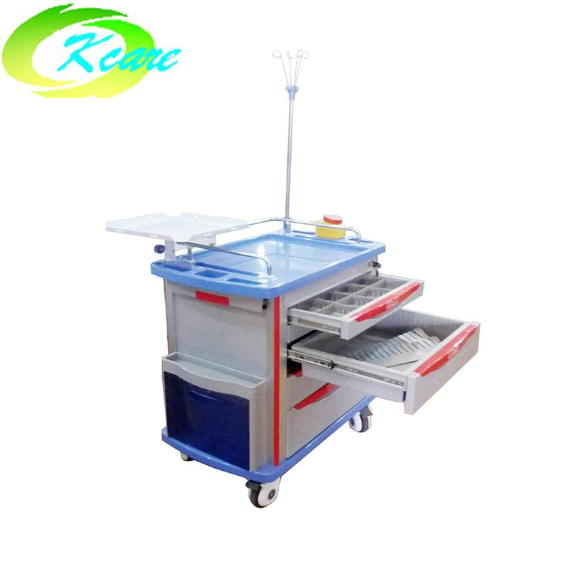 abs hospital emergency trolley for sale KS-320D