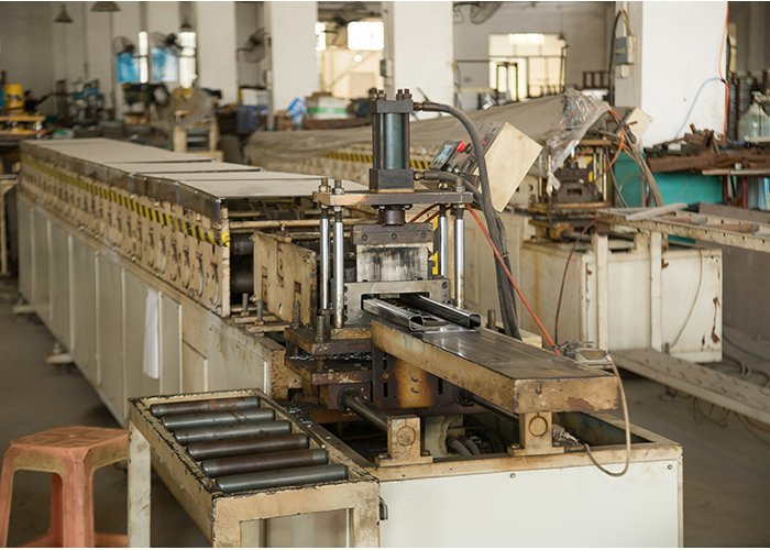 Automatic bed panel producing lines