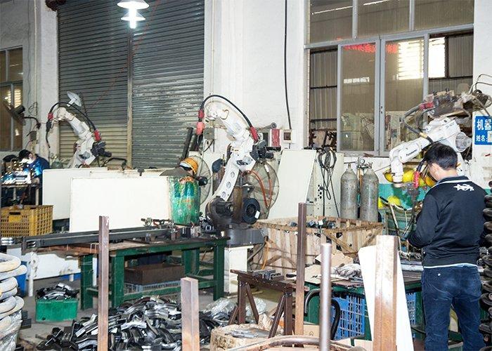 Panasonic welding robot workshop