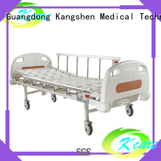 Kangshen Medical Brand deluxe 125mm custom manual hospital bed price