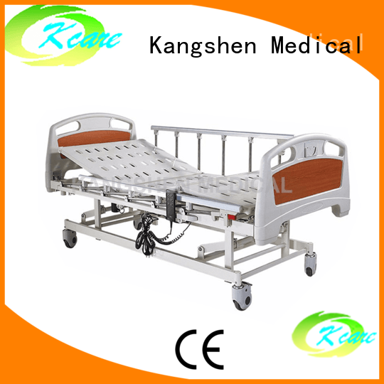 medical twofunction adjustable electric beds for sale brake multifunction Kangshen Medical Brand
