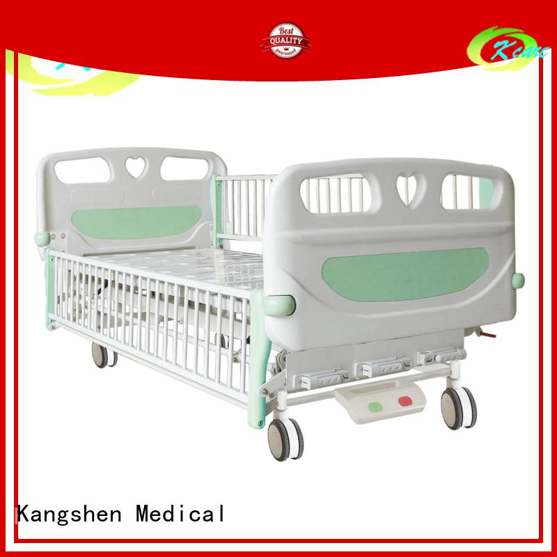 Kangshen Medical onecrank childrens hospital bed functions