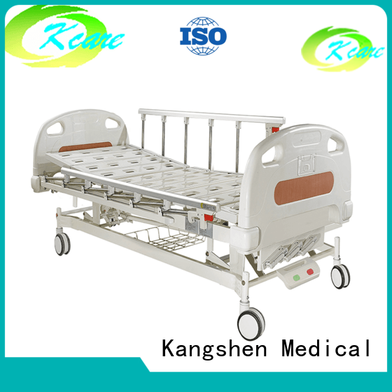backrest plastic manual hospital bed price Kangshen Medical Brand