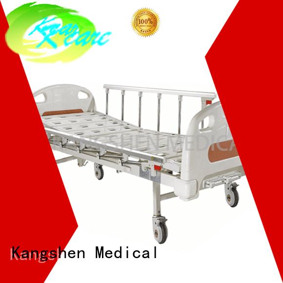 Wholesale icu metal manual hospital bed Kangshen Medical Brand
