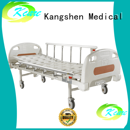 bed youth castors Kangshen Medical Brand manual hospital bed
