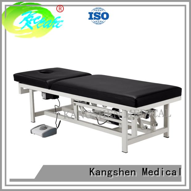 Kangshen Medical Brand examination electric backrest medical examination table