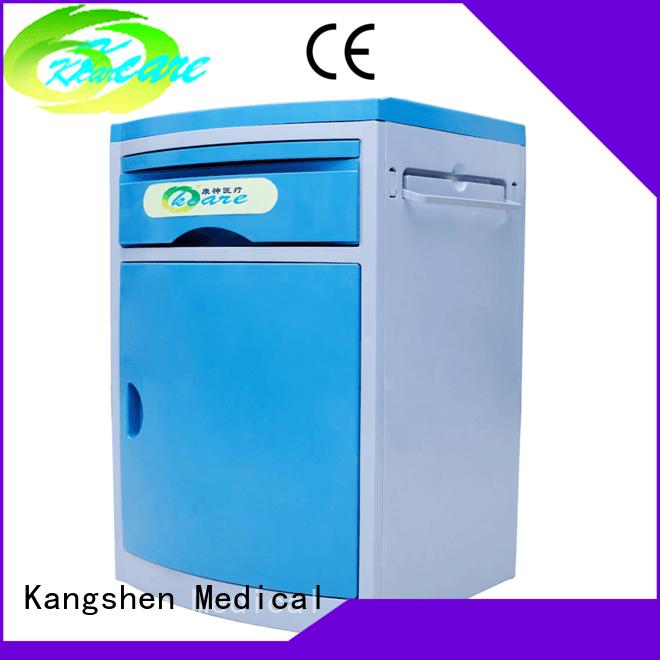 Kangshen Medical Brand abs hospital cabinet bedside hospital bedside cabinet