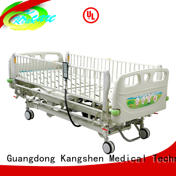 Kangshen Medical Brand trolley baby childrens hospital bed