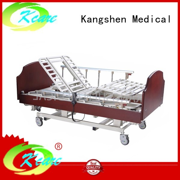 functions wood hospital beds for home use wooden Kangshen Medical company