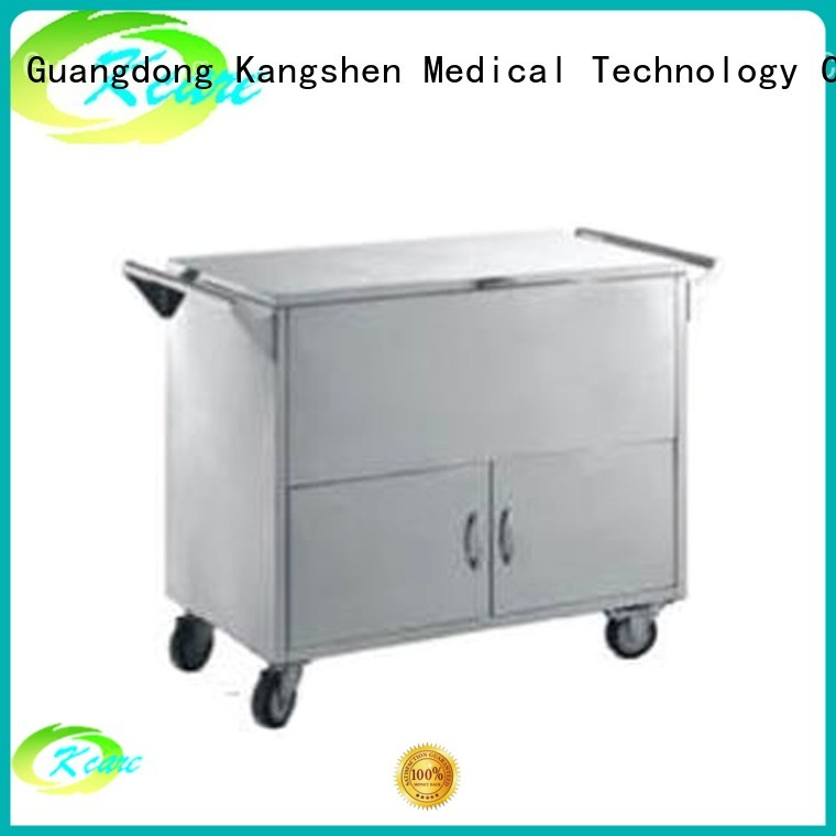 three linen deluxe hospital trolley Kangshen Medical Brand company