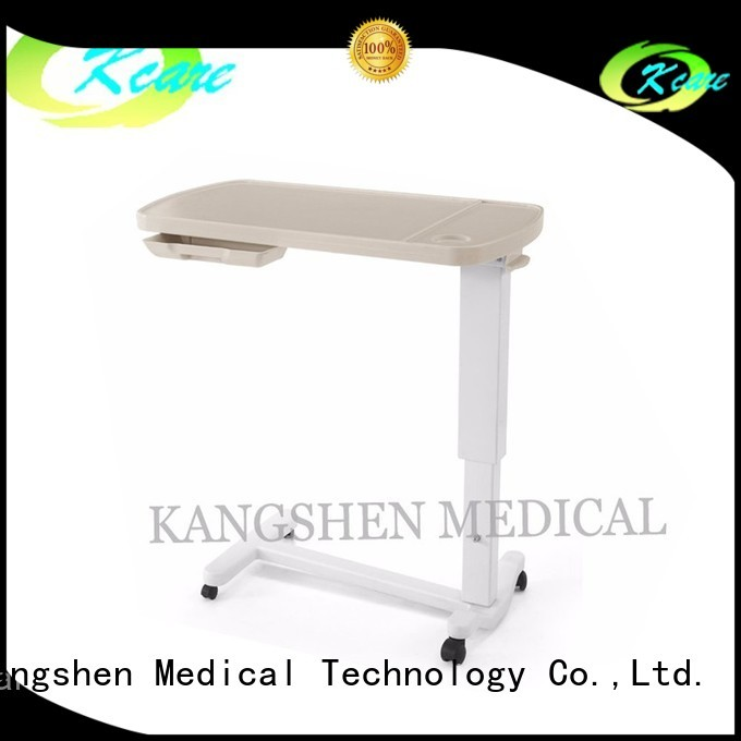 Kangshen Medical Brand hospital bed tray table vanity