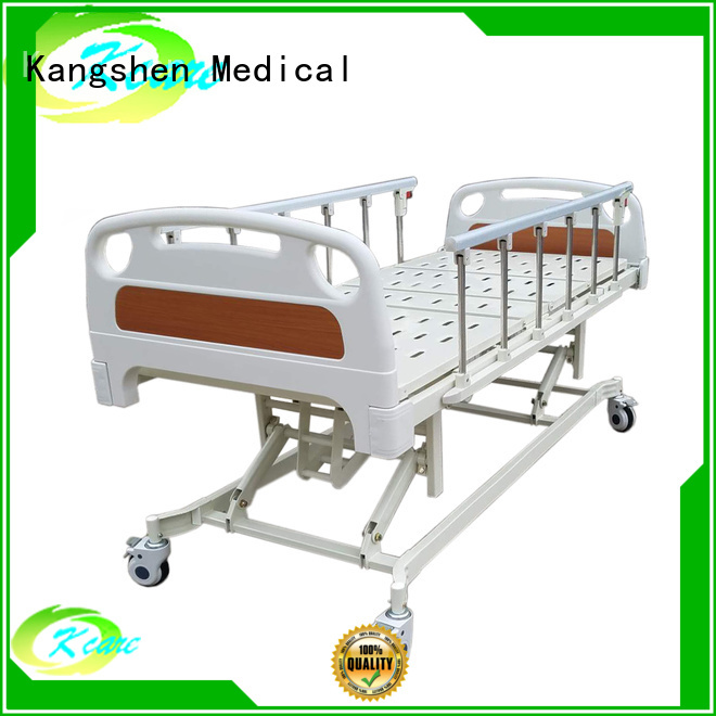 one latest manual hospital bed aluminum Kangshen Medical Brand company