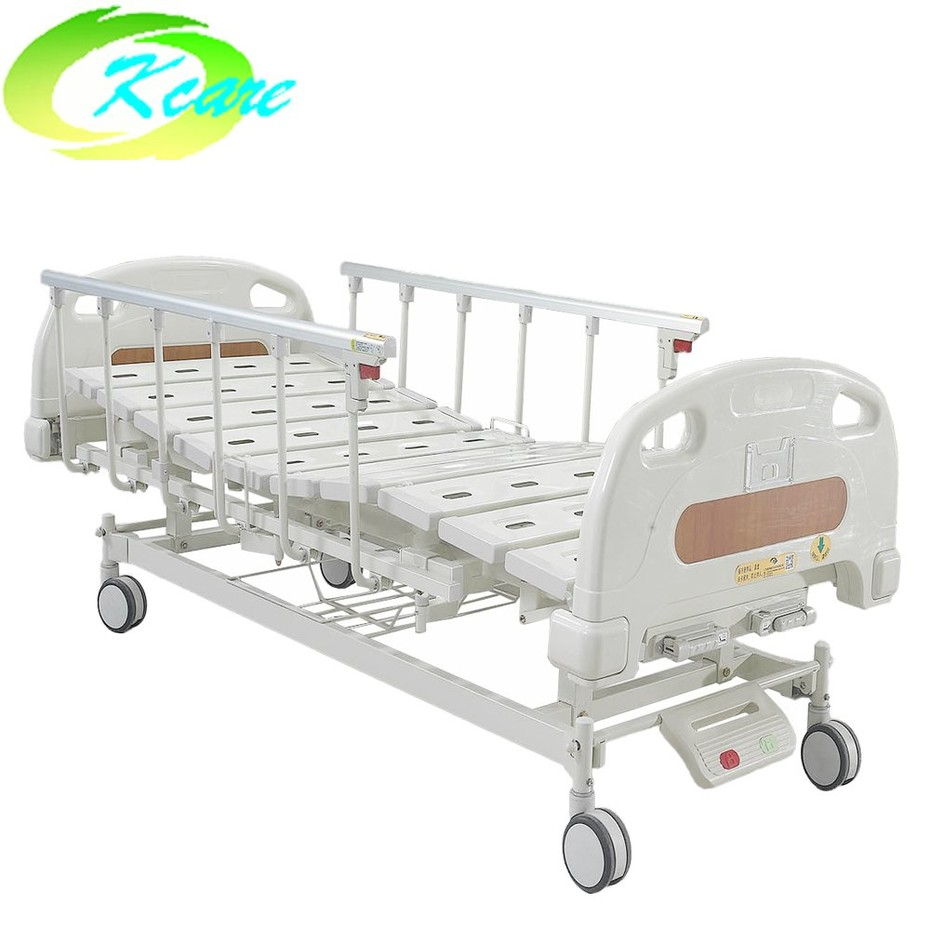manual adjustable bed Double Functions Manual Medical Bed for Hospital with 125mm Castors KS-S207yh Guidelines