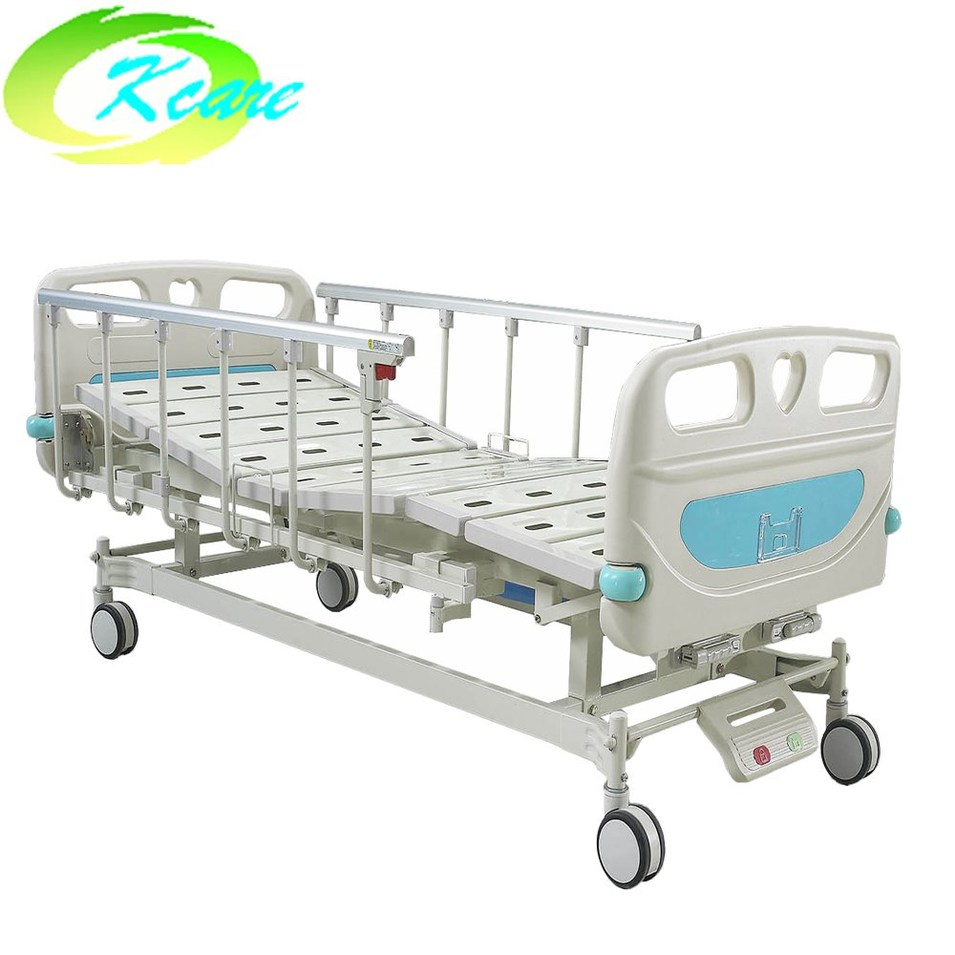 Adjustable Medical Furniture ABS Two Cranks Hospital Bed KS-S207yh