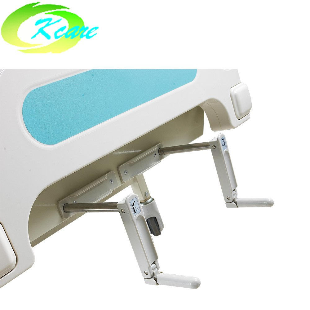 Kangshen Medical Double Functions Manual Medical Bed for Hospital with 125mm Castors KS-S207yh Manual Hospital Bed image93