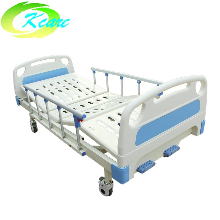 The guide of Two Cranks Manual Medical Hospital Bed for Paralyzed Patient KS-332b