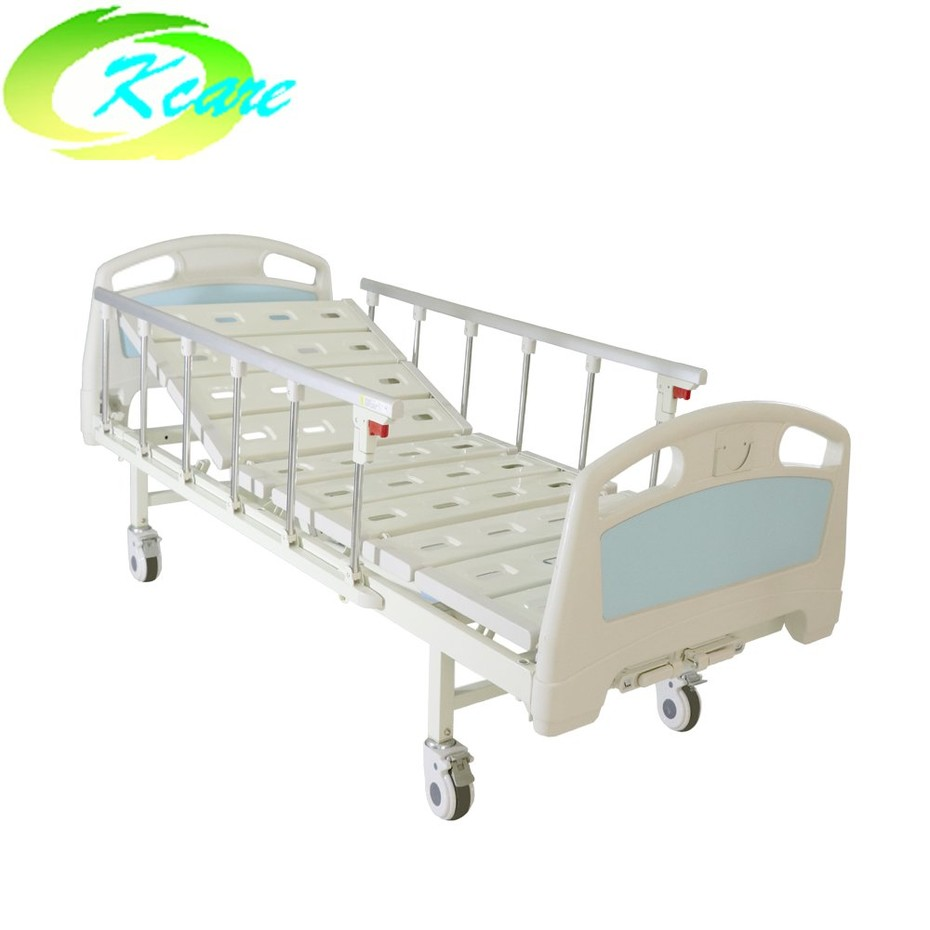 The guide of ABS Deluxe 2 Functions Manual Medical Care Hospital Bed for Adult KS-S203yh