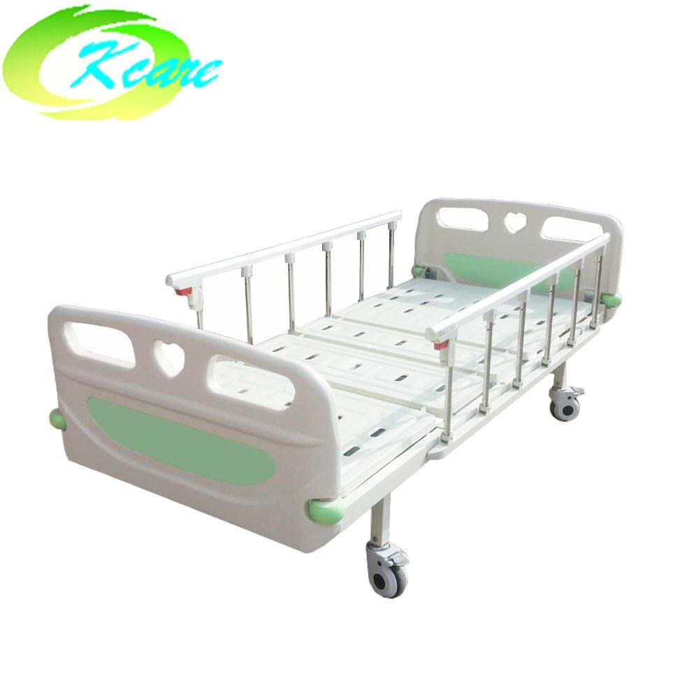 Kangshen Medical Backrest Adjustable Double Crank Youth Manual Hospital Bed KS-332c Manual Hospital Bed image90