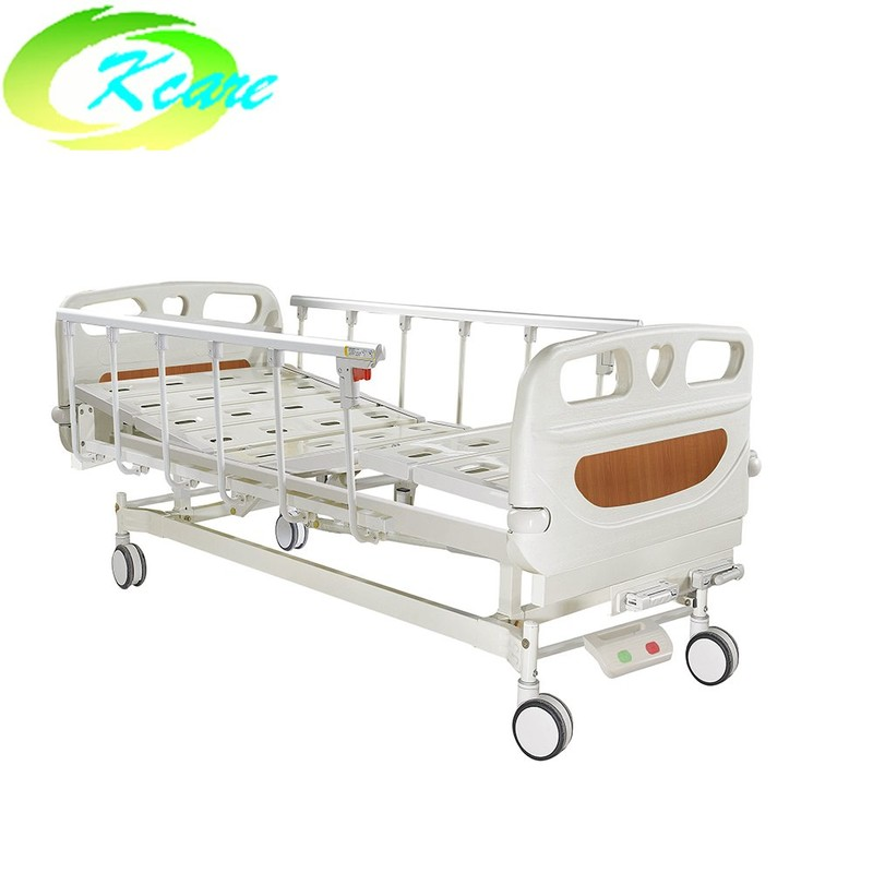 Metal Folding Manual Hospital Bed for Patient Room KS-S207yh