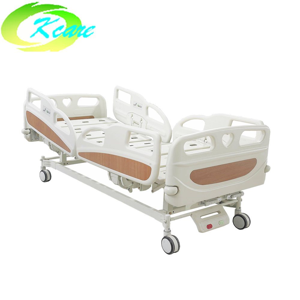 Kangshen Medical ABS Plastic Headboard Manual Hospital Bed with 2 Shakes KS-S209yh Manual Hospital Bed image85