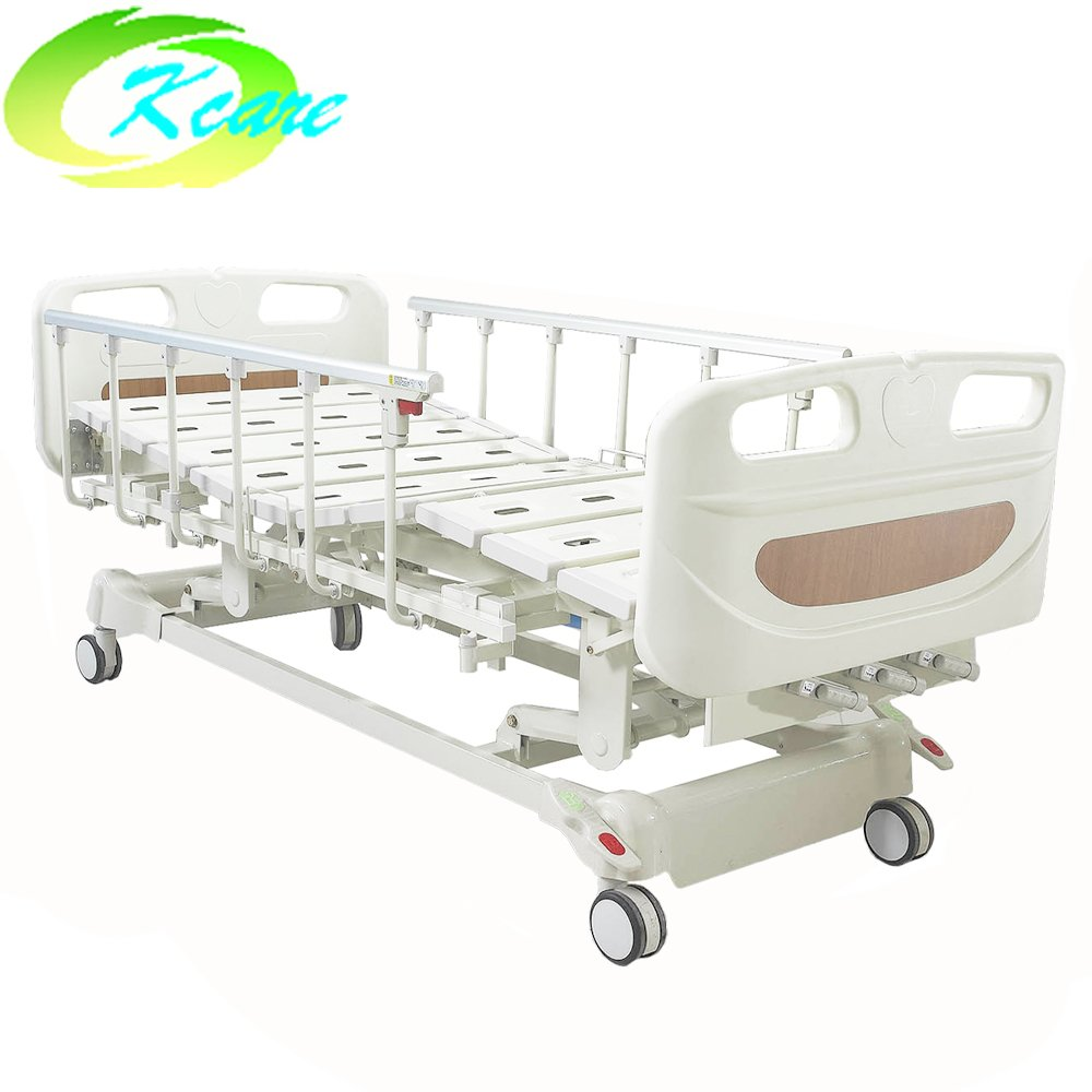 Kangshen Medical Medical Manual Folding Triple-Crank of Metal Material Hospital Bed KS-S301yh Manual Hospital Bed image82