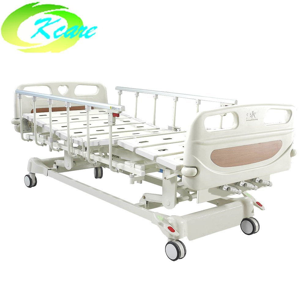 3 Cranks Manual Hospital Bed ICU Patient Bed KS-S301yh