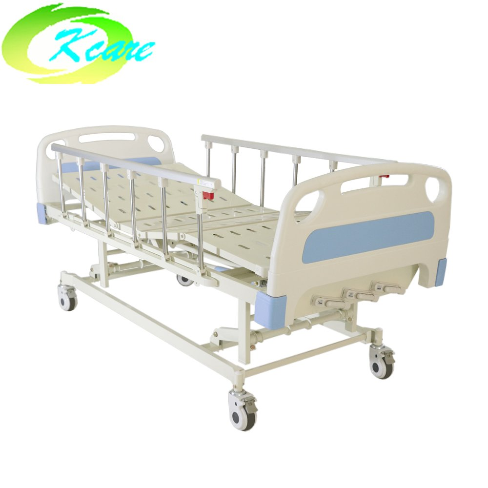 Kangshen Medical Manual Hospital Bed Electric Hospital Bed ICU Bed for Patient KS-632b Manual Hospital Bed image79