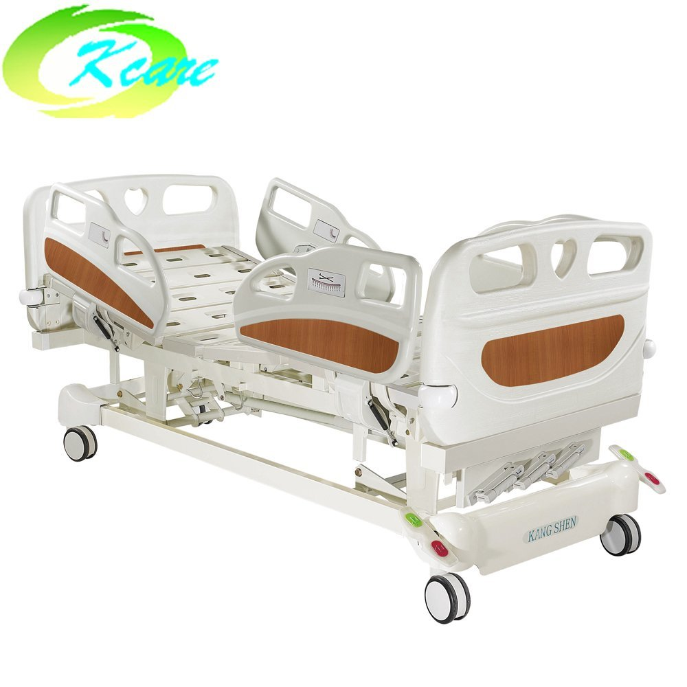 Kangshen Medical Paramount PP Side Rail Manual Hospital Bed with 3 Cranks for ICU Room KS-S303yh Manual Hospital Bed image76