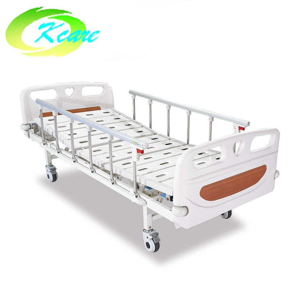 New Design Metal Folding Manual Hospital Bed for Patient Room KS-S207yh