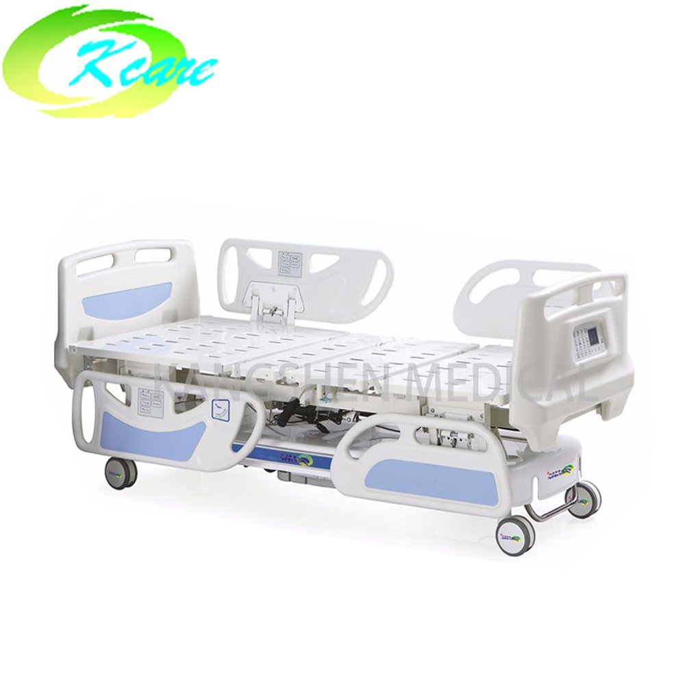 ICU Electric Five Functions Hospital Bed with Weighing Scale Function KS-838e