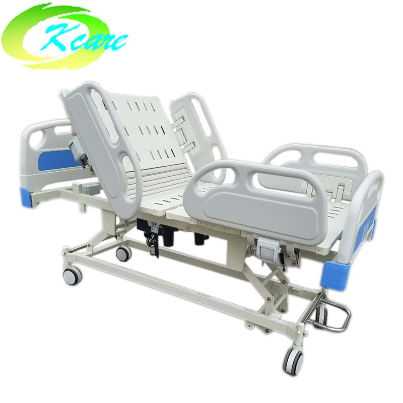 Adjustable Multi-Function Electric ICU 5 Function Medical Hospital Bed GS-858b