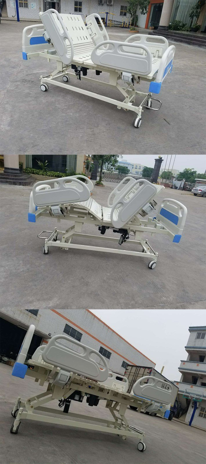 Kangshen Medical Brand bed fivefunction xray twofunction electric hospital bed