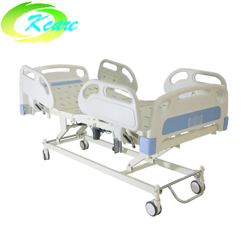 Kangshen Medical Adjustable Linak Motor Three Function Electric Medical Rotating Hospital Bed with PP Guardrail GS-828(a) Electric Hospital Bed image63