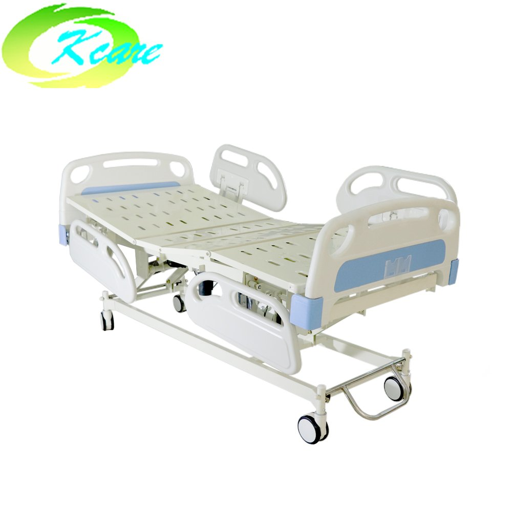 Kangshen Medical Timotion 3 Functions Electric Hospital Bed with Aluminum Side Rail GS-828(d) Electric Hospital Bed image61
