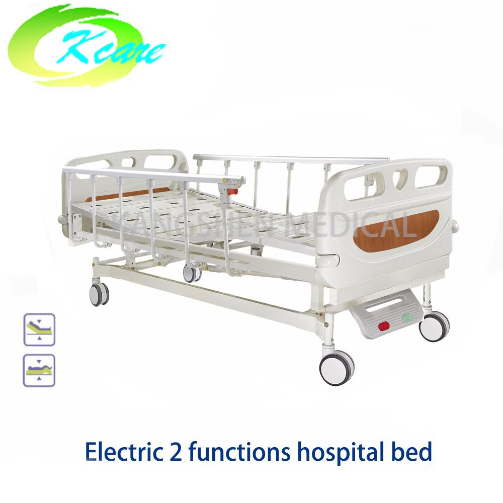 Kangshen Medical ABS Two Functions Electric Medical Hospital Bed with PP Side Rail GS-818(a) Electric Hospital Bed image58